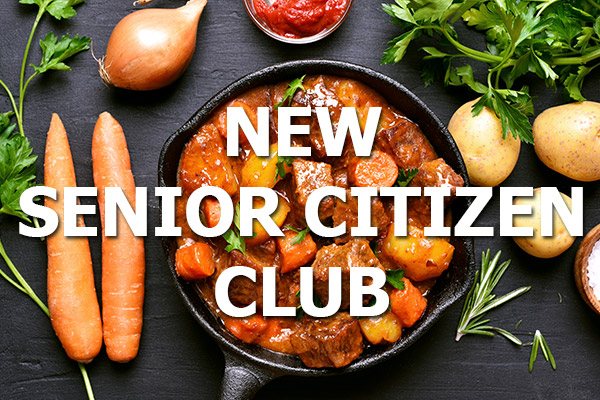 NEW Senior Citizen Club at The Spotted Dog