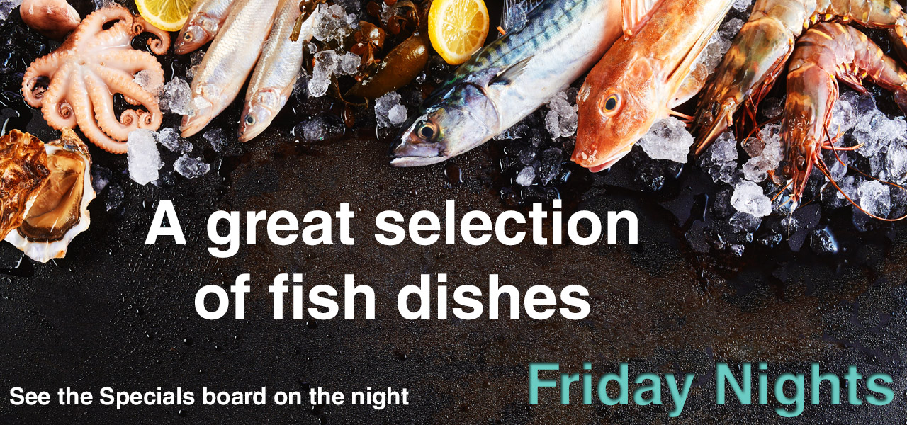 Friday Night is Fish Night at the Spotted Dog