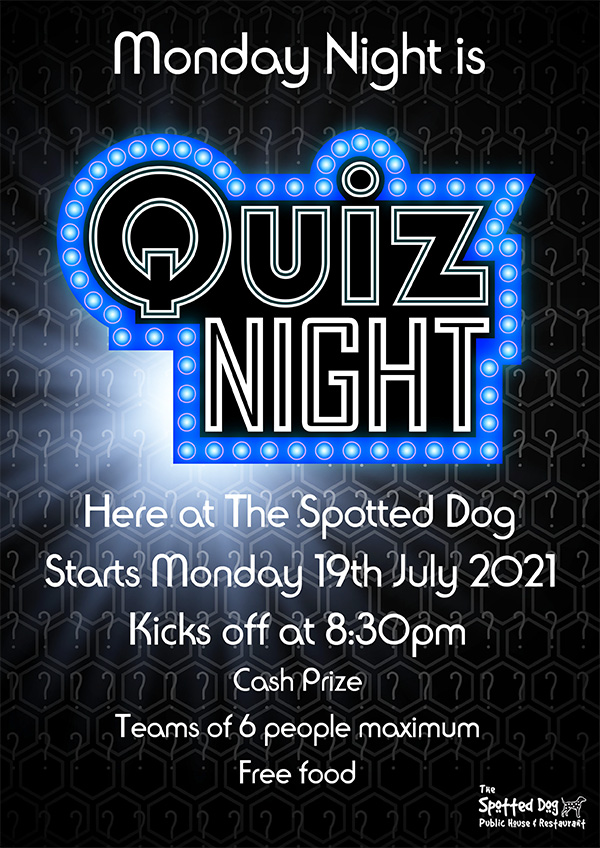 Quiz Night at The Spotted Dog Thatcham